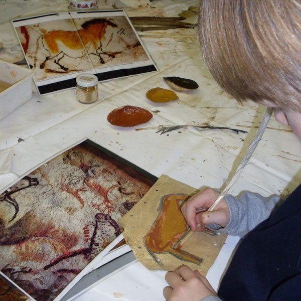 Steinzeitmalerei